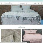Premium European Linen Bedding 10% off @ Linenshed.com.au