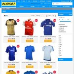 20% off All Football/Soccer Jerseys (Real Madrid, Arsenal, Manchester United etc) InSport.com.au
