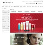 Beauty Gifts with Purchase at David Jones: Clarins, Armani, Burt's Bees, In Essence, Red Earth