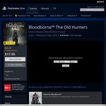 [AU PSN] Bloodborne The Old Hunters $16.15 with PS Plus or $17.95 without PS Plus