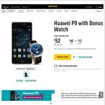 Optus New Promotion Huawei P9+Huawei Watch from $52/Per Month