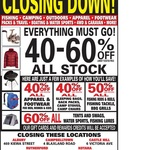Rays Outdoors Castle Hill NSW Closing down Sale 40%-60% off Entire Store