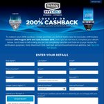 Schick Hydro Love It or 200% Cashback [Buy between 29th August and 12th October]