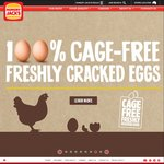 2 for $5 Brekky Muffins at Hungry Jack's