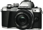 Olympus E-M10 Mark II Silver SLK (1442-EZ) $829 (Plus $150 Cashback and $100 Store Credit) @ The Good Guys