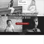 Win an Organic Family Pack Worth $500 from Bhumi Organic Cotton