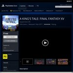 A Kings Tale: Final Fantasy XV Free on Xbox One and PlayStation 4