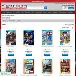 Gamesmen - Wii U Clearance: Fast Racing Neo $19.95, LEGO City Undercover $19.95, Tokyo Mirage Sessions #FE $29.95 + Postage
