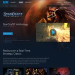 FREE PC Game: Starcraft Anthology (Starcraft & Brood War)
