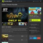 """""""Dollar Forever Bundle"""" - 27 Steam Games for $1 US (~$1.30 AUD)@ Bundle Stars"""
