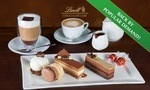 Lindt Chocolate Café Cake Platter with Hot Drinks for 2 People - $19.99 (Valued up to $48.50) at 8 Locations (NSW/VIC) @ Groupon