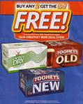 Liquorland - Buy 2 Cases of Selected Tooheys Beers and Receive The 3rd FREE!