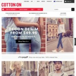 Free Click and Collect (No Min Spend) @ Cotton On