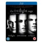 The Twilight Saga Triple Limited Edition Steelbook (3 Disc) [Blu-Ray] AUD $45 Inc Shipping