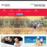 Kogan Credit of $60 for New Insurance Policies - Compreh Car, Home & Contents, Landlord B&C