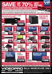 VideoPro Warehouse Sale - Sat 30 Oct from 7AM  [Eagle Farm QLD ONLY - Not Online]