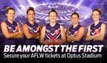 Fremantle V Collingwood AFLW Game at Optus Stadium on 10/02/18 for $2 (General Admission & No Handling Fees) @ Ticketmaster