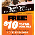 Video Ezy - $10 Rental Voucher