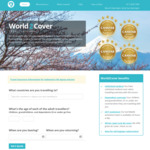 20% off Travel Insurance at World 2 Cover