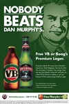 Dan Murphy's Offer – FREE VB or Boag's Premium Lager!