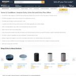 Save Up To $50 On Echo Devices (Echo Dot - $53, Echo - $119, Echo Plus - $179) @ Amazon AU