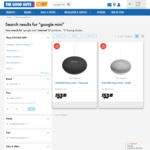 Google Home Mini + Bonus $20 Store Credit - $53  @ The Good Guys