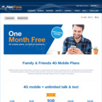 First Month Free | All Mobile Plans | No Lock-in Contract @ MyNetFone - Ongoing Plans from $17/Month