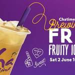 [VIC] Free Fruity Iced Tea @ Chatime (Stockland Point Cook)