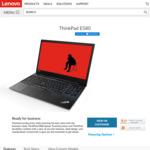 "Lenovo ThinkPad E580 - Intel Core i5-8250U / 8GB DDR4 / 256GB M.2 SSD / 15.6"" FHD - $879 Delivered @ Lenovo"