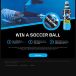 Win a Share of 4,300 Powerade Soccer Balls Worth $25 from Coca-Cola  [Purchase Powerade]