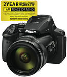 Nikon Coolpix P900 (16 MP, 83X Zoom) - $551.20 + $8 Delivery @ The Good Guys eBay