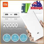 [eBay Plus] Xiaomi 2C 20000mAh Charger Dual USB $25.99 Delivered @ Mobilemall eBay