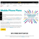 Double Data on Selected 24 Months Mobile Phone Plans @ Optus