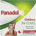 ½ Price - Panadol Children 7+ Years Strawberry Tablets 16 Pack $2, Codral Antibacterial Lozenges 36 Pack $4.75 @ Big W