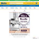 Win a Breville Barista Express Coffee Machine Worth $899.95 from Betta