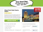 Wrest Point Hotel Casino Hobart - $129 Per Day -Stay Dates Are 23 March 2011 - 06 September 2011