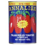 ½ Price - Annalisa Canned Peeled or Diced Tomatoes, Beans 400g $0.70 | Philips LED 13W 1400lm $7.50 @ Woolworths