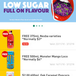 Free Nexba 375mL Drink @ 7-Eleven via Fuel Lock App