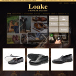 Loake Shoes   Black Friday up to 21% off: Goodyear Welted Full Leather Shoes from $159 + Shipping, Free Shipping over $200