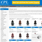 GT-MAX Gaming Chairs $189 (Was $229) + Discounted Delivery @ CPL Online