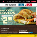 [VIC] 50% off Traditional and Premium Pizzas @ Domino's (Doncaster East)