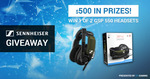 Win 1 of 2 Sennheiser GSP 550 Gaming Headsets Worth $350 from XY Gaming