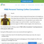 [ACT] Free Personal Fitness Training Coffee Consultation @ Define Fitness (Canberra Only)