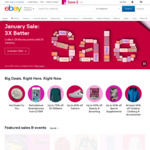 £10 off eBay UK Voucher, Min Spend £20 @ eBay.co.uk