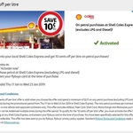 Flybuys/Coles Express: Save $0.10/L on Every Petrol Purchase (Excluding LPG and Diesel)