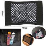 Car Seat Rear Elastic Mesh Storage Pocket Organiser 40*25cm US $2.01 (~AU $2.88) Delivered @ Sevenl AliExpress