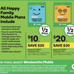 Woolworths Mobile $30 / $50 Starter Kits for $10 / $20 @ Woolworths (In-Store Only)
