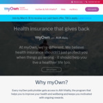 Join Myown Health Insurance by 31 March and You Can Get up to 8 Weeks Cashback