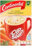 Continental Cup A Soup -Chicken/ Lots a Noodles (2 Serve) - 7 Packs $3.50 + Delivery (Free with Prime / $49 Spend) @ Amazon AU