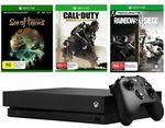 Xbox One X + 3 Games $494 | PlayStation 4 1TB Slim Console + 3 Games $404 | Canon EOS 3000D DSLR Camera $359 @ Big W eBay